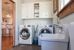 Washer, Dryer and detergent for your use.