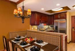 2BR kitchen and dining