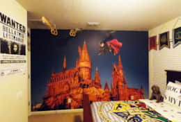 Harry Potter bedroom