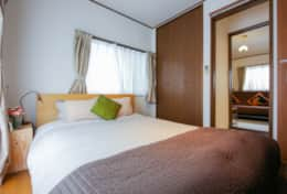Bedroom 1 - double bed | Tokyo Family Stays | Yoyo house| Family friendly accommodation |