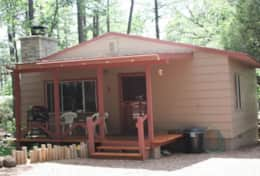 Nothwoods Cabins 1  1bd-1bth 700sf