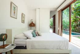 villa maz queen Bedroom