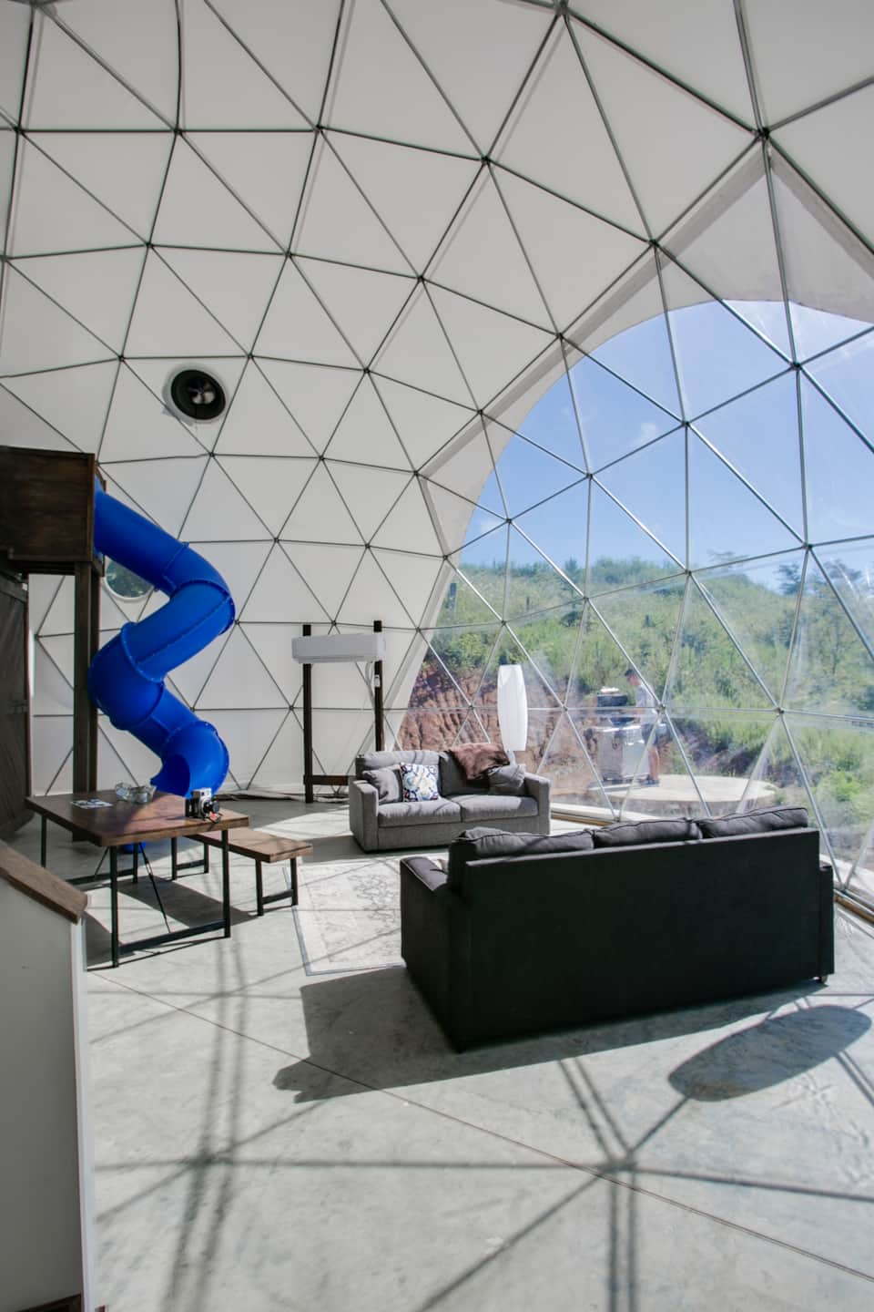 Dome 3---Min Stay 2 nights - Camping in Asheville