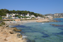 Holiday house in Moraira just 300 metres distance from the beach