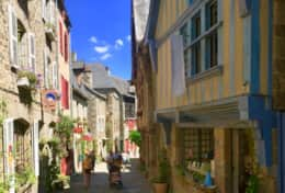 The famous Rue de Jerzual (circa 15C and 16C)