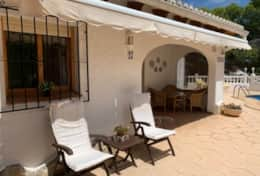 Holiday rental house Moraira
