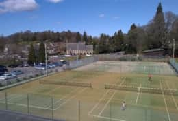 Dunblane tennis courts