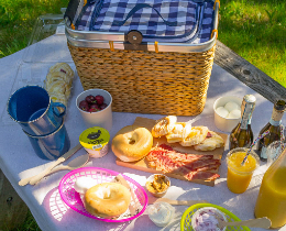 The Mediterranean Breakfast Basket