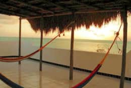 Ranas rooftop terrace hammocks