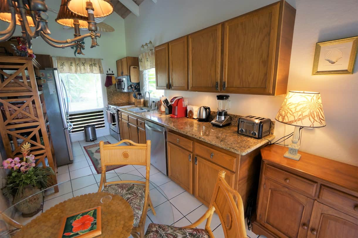 #14 Kitchen with Stainless Appliances and new Granite Countertop