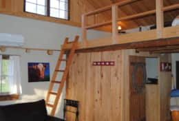 Ladder access to loft