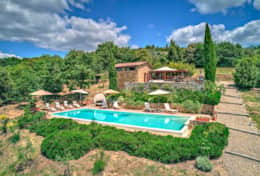 The Annesso, Pool and Barbecue Terrace