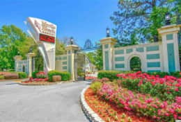 Myrtle Beach Resort entrance