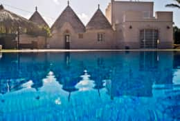 Tipical Trulli monopoli apulia Piscina Privata