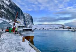 Lofoten fishing boat