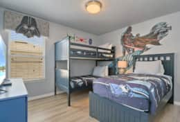 Star Wars kids bedroom near Disney World