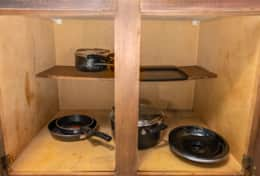 Pots and pans for that cheaper home-cooked meal