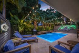 Landscape & Accent Night Lighting Pool Side