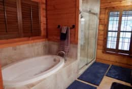 Master Bath-Tub and Shower