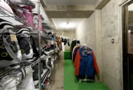 Nozawa Peaks drying room