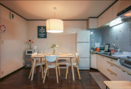 Dining space Shinjuku Family House| Tokyo Family Stays |Spacious |
