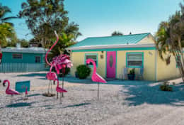Flamingo Front Entrance