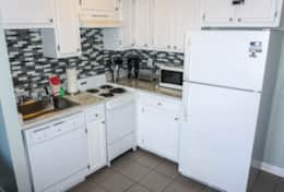 Ocean Front Myrtle Beach Resort Condos Photos Vacation Rental Kitchen