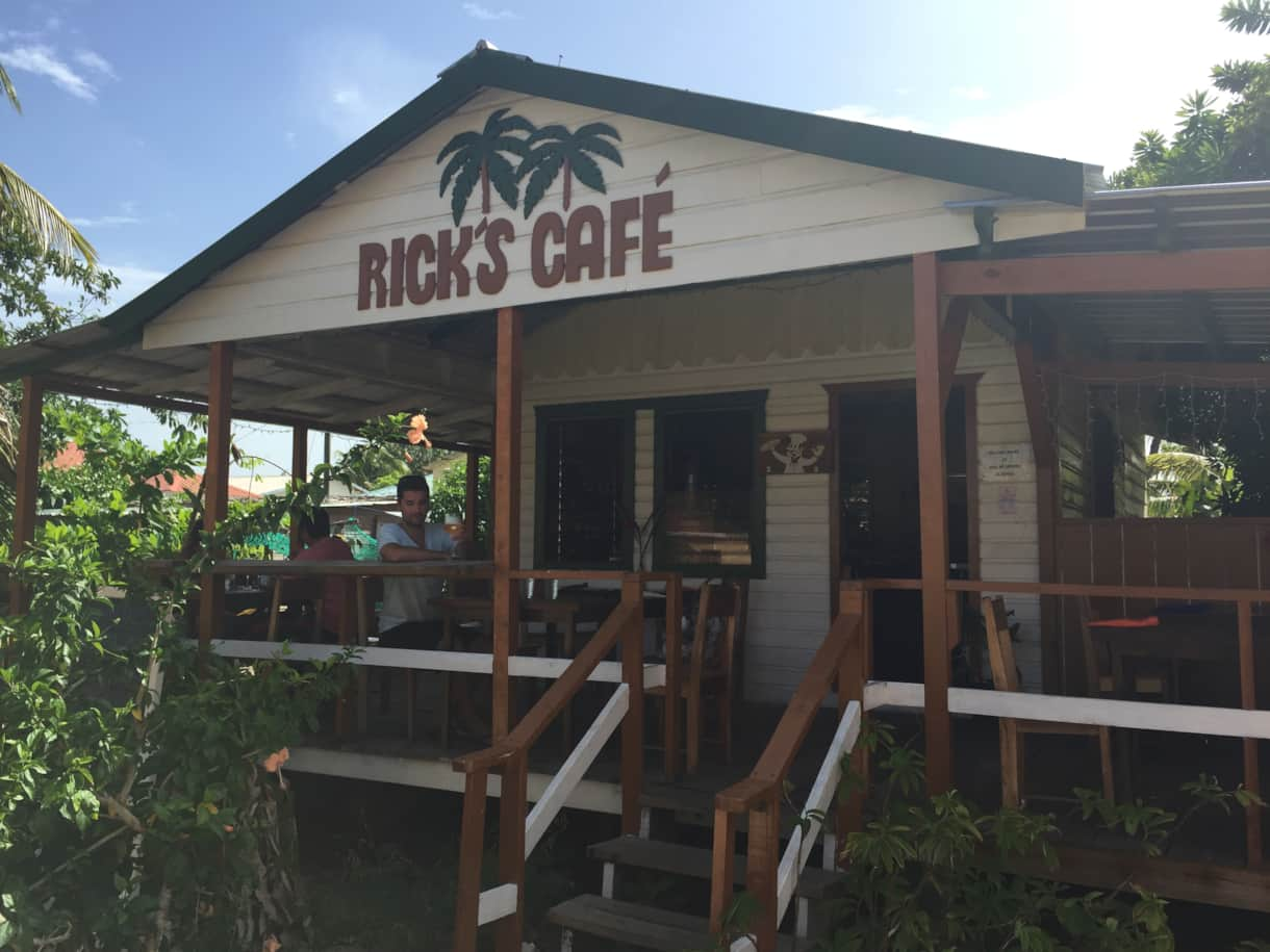 Rick's Cafe in town