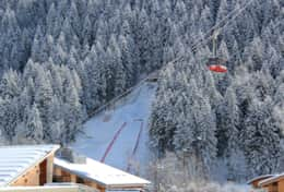 Have you personal seat in the balcony of the apartment Frendo to watch ski jump competitions