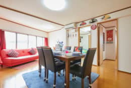 2 bedroom apartment, all yours-best family stays in Tokyo