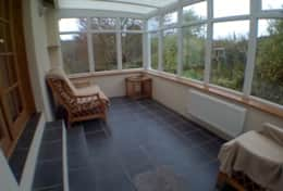 conservatory with views