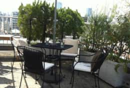 Deck/terrace| Chalet Court Mita| Tokyo Family Stays | Central Tokyo| Perfect view