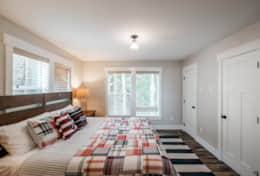 The lower forest suite feels like the definition of Oregon. Plaid and cozy.