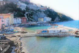 View of Marina Grande Sorrento