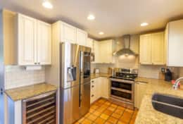Cook your favorite meals in the fully equipped kitchen.