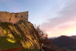enchanting castle for rent in le Marche