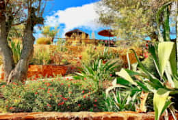 Luxury garden at Gato Preto de Silvesjpeg