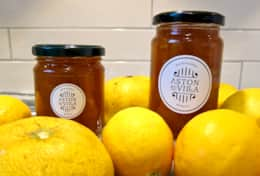 Aston Road Villas Home made Grapefruit & Lemon Marmalade