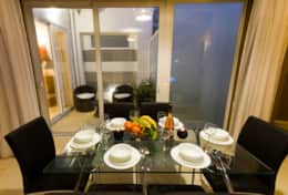 Belle Apartments Dining Area