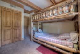 Bunk bedroom shared detached bathroom (shared with Master bedroom#2) located on the first floor.