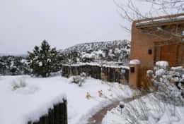 Snow at the villa! Plan your next Ski getaway with us!