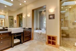 The Upper Master Bathroom