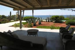 Summer House - patio - garden - pool - Marina di S.Gregorio-Salento