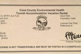 2020 Health Department license