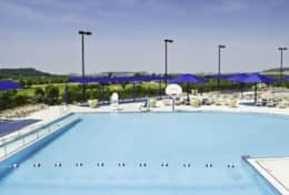 Outdoor pool Owners' Club, Galena IL