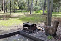 Grampians Retreat 2 - Outdoor fire pit and bbq