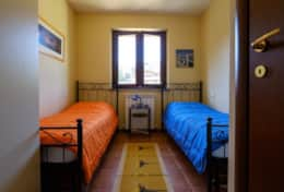 Casa Vignone, third bedroom upstairs