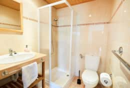 Bathroom in guesthouse