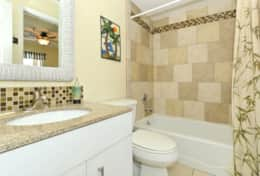 2nd Full bath with access from 2nd Bedroom & Hallway