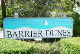 30 Barrier Dunes Sign